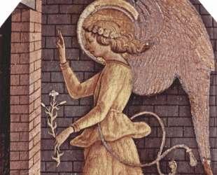 Annunciation angel Gabriel — Карло Кривелли