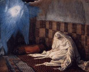 Annunciation, illustration for 'The Life of Christ' — Джеймс Тиссо