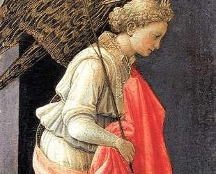 Annunciation, left wing — Филиппо Липпи