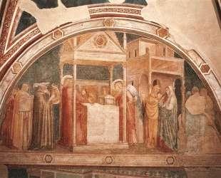 Annunciation to Zacharias — Джотто
