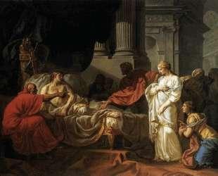 Антиох и Стратоника — Жак Луи Давид
