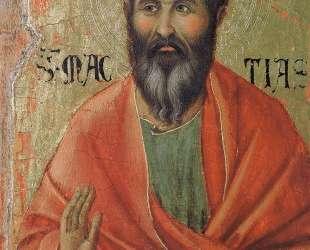 Apostle Matthias — Дуччо
