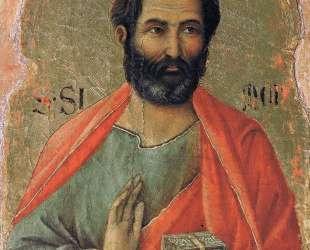 Apostle Simon — Дуччо