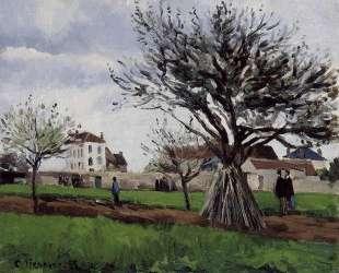 Apple Trees at Pontoise — Камиль Писсарро
