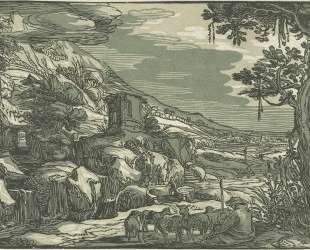 Arcadian landscape — Эсайас ван де Вельде