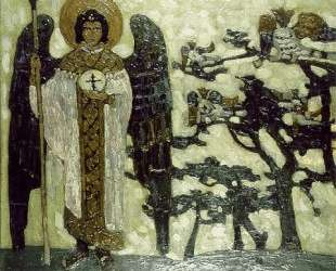 Archangel (Study to 'Treasures of angels') — Николай Рерих