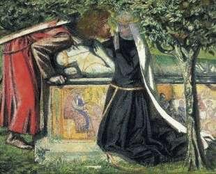 Arthur`s Tomb — Данте Габриэль Россетти