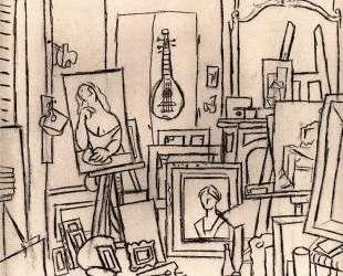 Artist's studio on street La Boetie — Пабло Пикассо