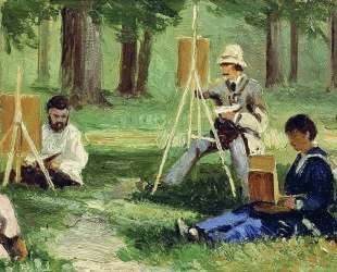 Artists in the Open Air — Ефим Волков