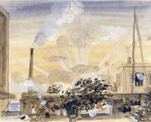 Asleep beneath the fig-tree and a chimney — Янис Царухис