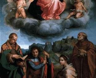 Assumption of the Virgin — Андреа дель Сарто