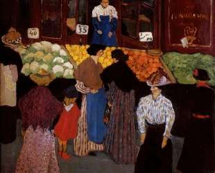 At the Market — Феликс Валлотон