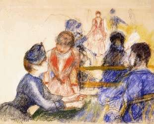 At the Moulin de la Galette — Пьер Огюст Ренуар
