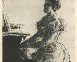 At the Piano — Андерс Цорн