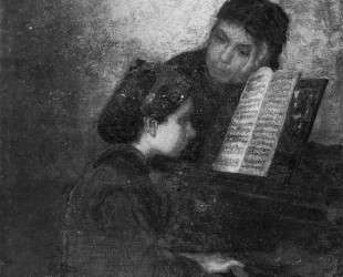At the Piano — Томас Икинс