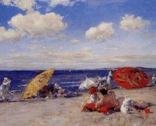 At the seaside — Уильям Меррит Чейз