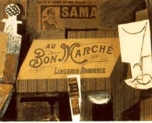 Au bon marche — Пабло Пикассо