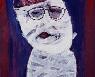 Auto retrato en blanco (self portrait in white) — Рамон Овьедо