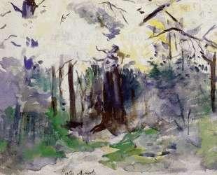 Autumn in the Bois de Boulogne — Берта Моризо