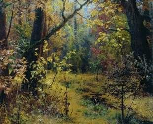 Осеннее утро — Григорий Мясоедов