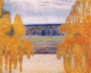 Осенняя песнь — Виктор Борисов-Мусатов