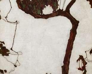 Autumn Tree with Fuchsias — Эгон Шиле