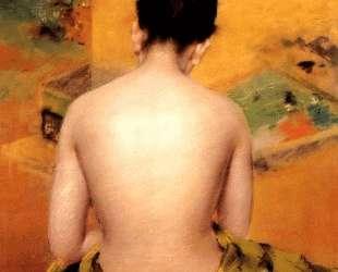 Back Of A Nude — Уильям Меррит Чейз