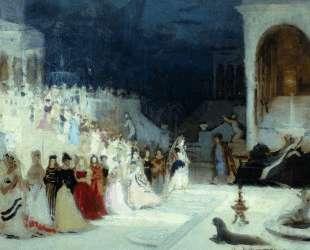 Сцена из балета — Илья Репин