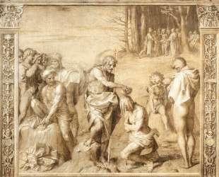 Baptism of the People — Андреа дель Сарто