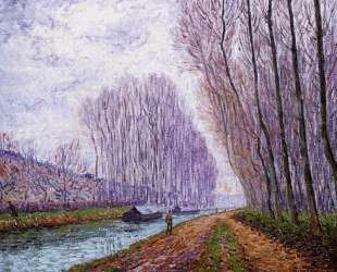 Barges on the Loing, Morning Effect — Франсис Пикабиа
