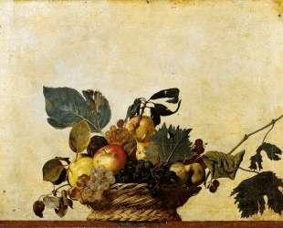 Корзина с фруктами — Караваджо