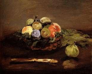 Basket of Fruits — Эдуард Мане