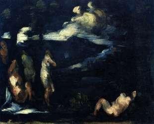 Bathers — Поль Сезанн