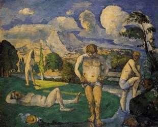 Bathers at Rest — Поль Сезанн
