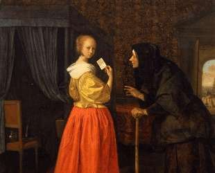 Bathsheba Receiving David s Letter — Ян Стен