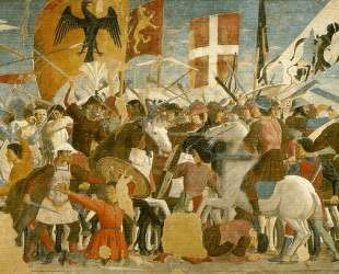 Битва между Ираклием и Хосровом — Пьеро делла Франческа