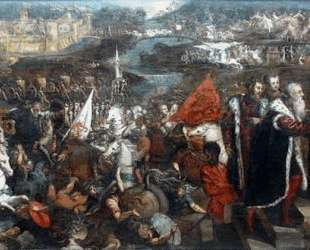 Battle of Asola — Тинторетто