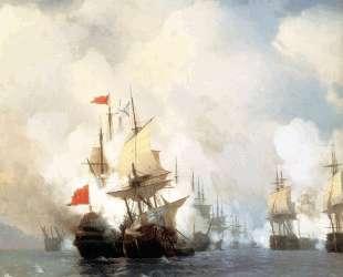 Хиосское сражение 24 июня 1770 года — Иван Айвазовский