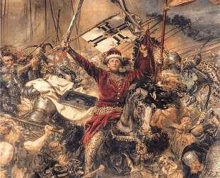 Battle of Grunwald, Witold (detail) — Ян Матейко