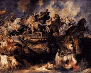 Battle of the Amazons — Питер Пауль Рубенс