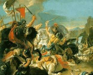 Battle of Vercellae — Джованни Баттиста Тьеполо