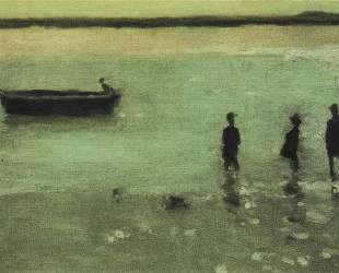 Beach at Etaples — Филип Уилсон Стэр