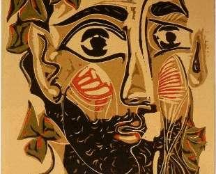 Bearded man — Пабло Пикассо