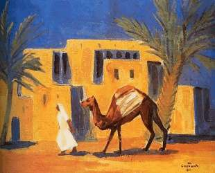 Bedouin with a camel — Мартирос Сарьян