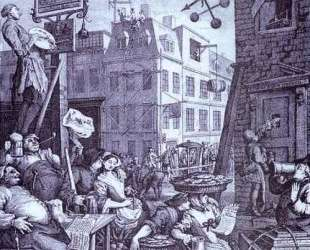 Beer Street — Уильям Хогарт