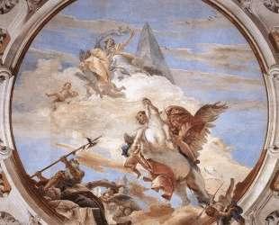 Bellerophon on Pegasus — Джованни Баттиста Тьеполо