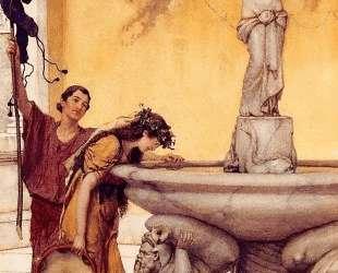 Между Венерой и Бахусом — Лоуренс Альма-Тадема