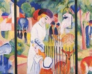 Big Zoo, Triptych — Август Маке
