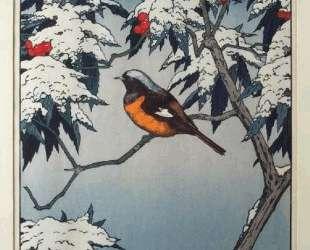 Birds of the Seasons — Winter — Тоси Ёсида