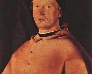 Bishop Bernardo de' Rossi — Лоренцо Лотто